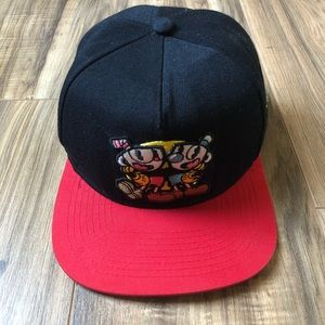 Cuphead Hat Snapback Video Game 2018 Cap